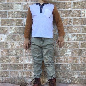 H&M shirt and pants